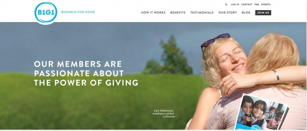 B1G1 website