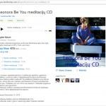 Meditaciju CD 1 zigsnis