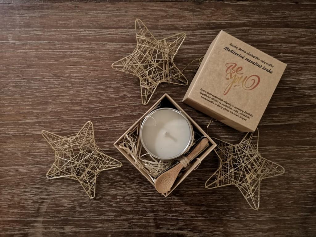 BE YOU masažinė-meditacinė žvakė